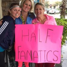 We are all officially Half Fanatics!